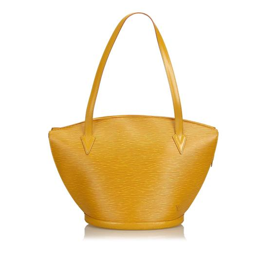 Preload https://img-static.tradesy.com/item/25140659/louis-vuitton-saint-jacques-long-strap-pm-france-yellow-cowhide-leather-shoulder-bag-0-0-540-540.jpg