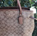 Coach Tote in Saddle Image 2
