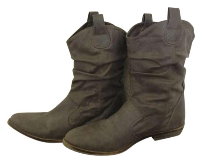 Item - Grey Cowgirl Chic Boots/Booties Size US 8
