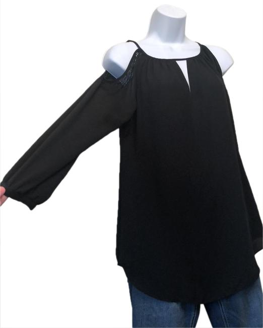 Preload https://img-static.tradesy.com/item/25140872/white-house-black-market-lace-accented-cold-shoulder-blouse-lined-see-pic-top-0-1-650-650.jpg
