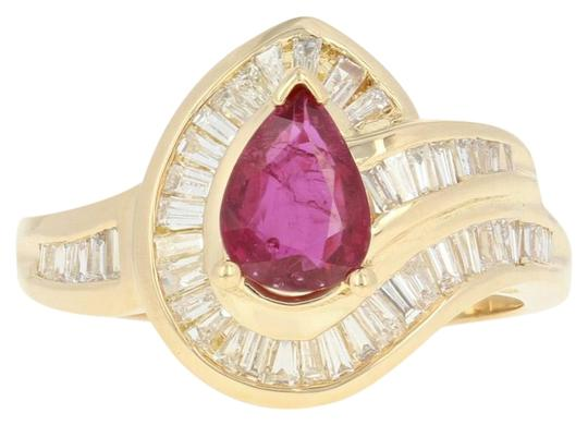 Preload https://img-static.tradesy.com/item/25140912/yellow-gold-ruby-and-diamond-bypass-18k-halo-baguette-u9079-ring-0-1-540-540.jpg