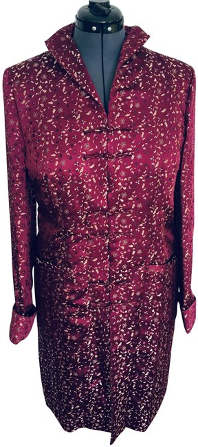 Preload https://img-static.tradesy.com/item/25140914/burgundy-floral-yellow-black-red-oriental-asian-style-topper-jacket-size-18-xl-plus-0x-0-1-650-650.jpg