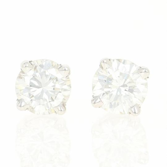 Preload https://img-static.tradesy.com/item/25140915/white-gold-new-diamond-stud-14k-pierced-round-cut-u9146-earrings-0-0-540-540.jpg