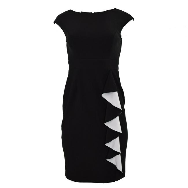 Preload https://img-static.tradesy.com/item/25140922/vince-camuto-black-womens-ruffled-sleeveless-sheath-mid-length-workoffice-dress-size-2-xs-0-0-650-650.jpg
