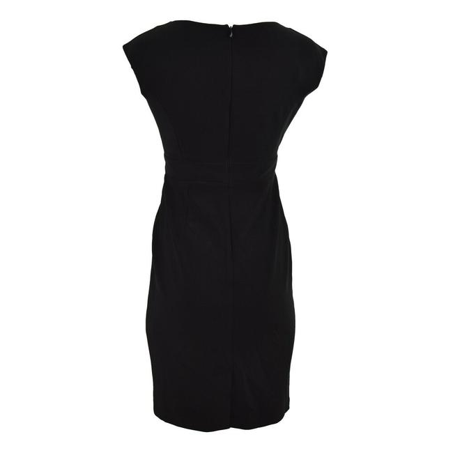 Vince Camuto Sheath Sleeveless Ruffled Dress Image 1