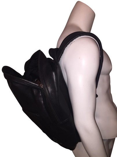 Preload https://img-static.tradesy.com/item/25140935/nwot-oversized-padded-black-leather-backpack-0-1-540-540.jpg