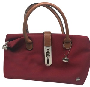 LA BAGAGERIE Satchel in Red
