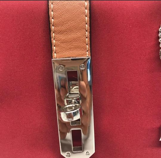LA BAGAGERIE Satchel in Red Image 1