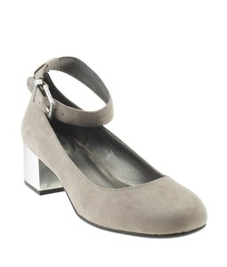 Kenneth Cole Kitten Suede Grey Pumps