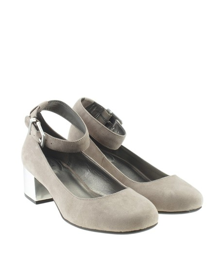 Kenneth Cole Kitten Suede Grey Pumps Image 1