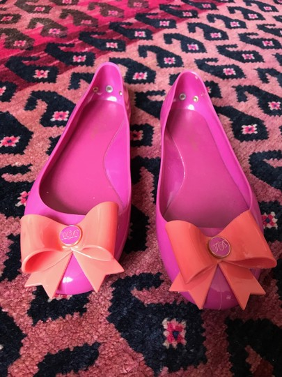 Ted Baker Jellies Rain Bow Pink Flats Image 3