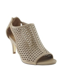 Style & Co Leather Beige Sandals
