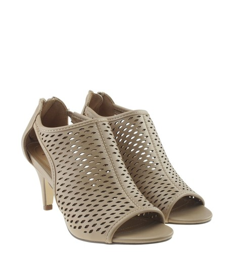 Style & Co Leather Beige Sandals Image 1