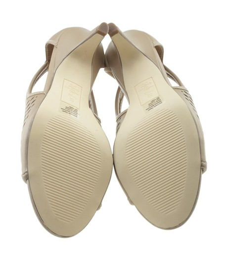 Style & Co Leather Beige Sandals Image 2