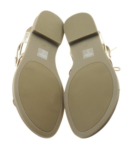 Guess Leather Gold Sandals Image 2