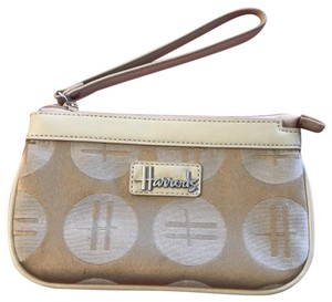 Harrods Wristlet in taupe