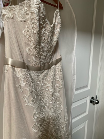 Watters & Watters Bridal Alice Feminine Wedding Dress Size 10 (M) Image 1