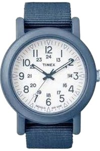 Timex Timex Unisex Camper Watch T2N428 Blue Analog