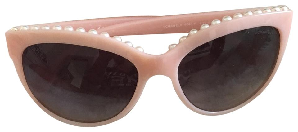 217ddbf817 Pink Chanel Sunglasses - Up to 70% off at Tradesy