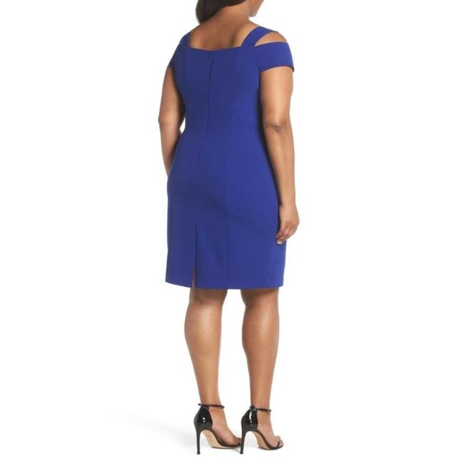 Eliza J Plus-size Cold Shoulder Sheath Dress Image 1