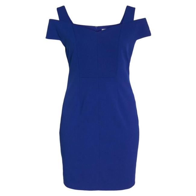 Eliza J Plus-size Cold Shoulder Sheath Dress Image 2