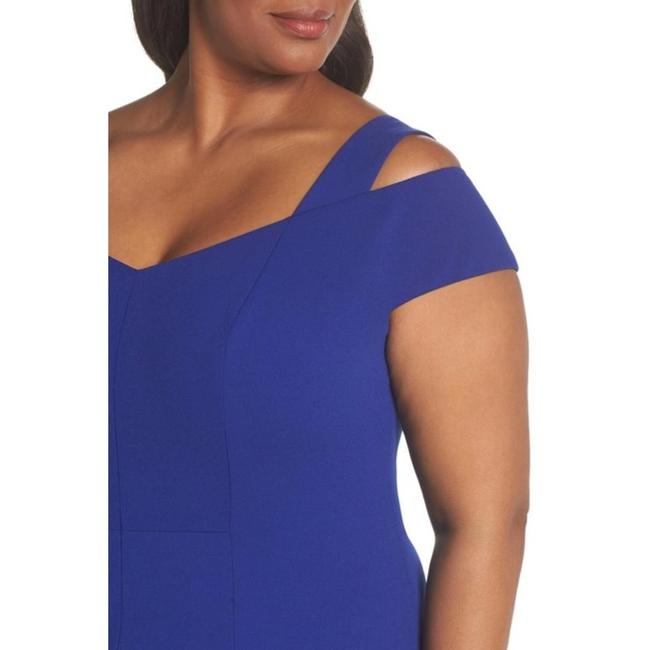 Eliza J Plus-size Cold Shoulder Sheath Dress Image 3