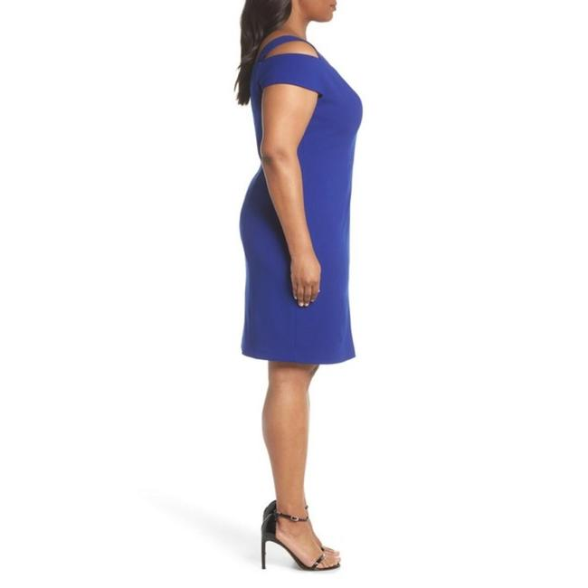 Eliza J Plus-size Cold Shoulder Sheath Dress Image 4