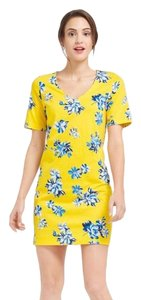 Draper James short dress blue, yellow, white on Tradesy
