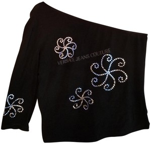 Versace Jeans Collection Top Black