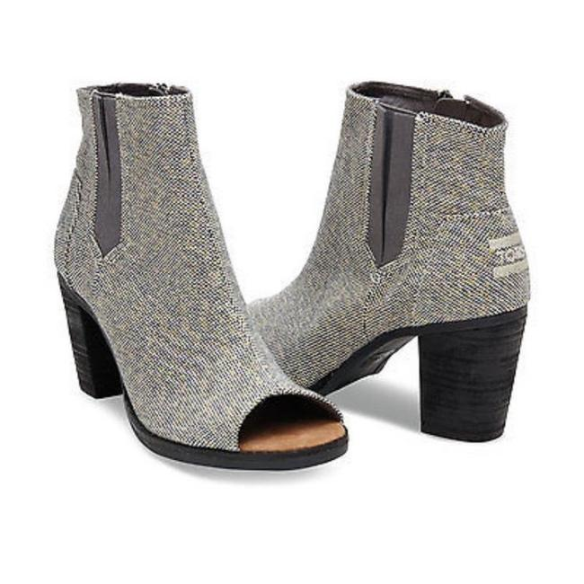 Item - Gold/Silver And Metallic Boots/Booties Size US 8.5 Wide (C, D)