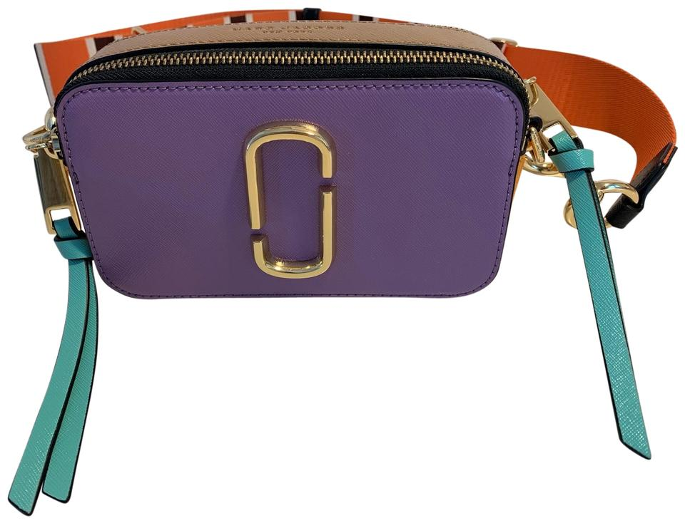 ce0373f12a0b Marc Jacobs Snapshot Camera Purple Cowhide Leather Cross Body Bag ...