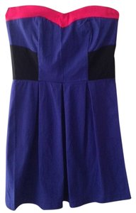 Other short dress Colorblock Color-blocking Party on Tradesy