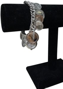 Burberry Burberry Signature ladies coin charm watch bracelet