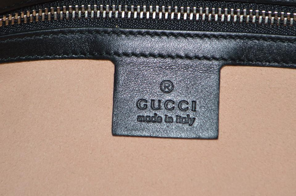 abcce4f8ab47 Gucci Dionysus New Extra Large Maxi Embroidered Tiger Black Leather ...