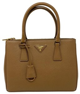 08ee4e24515f Prada Saffiano Satchel in Cannela · Prada. Lux Double Saffiano Small Handle  Tote Cannela Leather Satchel