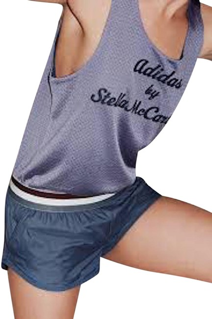 Item - Navy Mesh Athletic Activewear Top Size 8 (M)