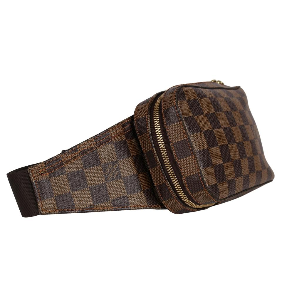 da3344b8c234 Louis Vuitton Géronimos Belt 7273 Brown Canvas Cross Body Bag - Tradesy