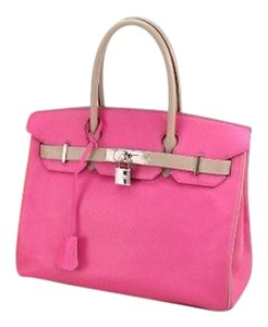 Hermès Birkin Birkin 30 Pink Birkin Fashion Satchel in Rose