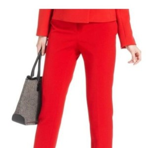 Anne Klein Skinny Pants Red