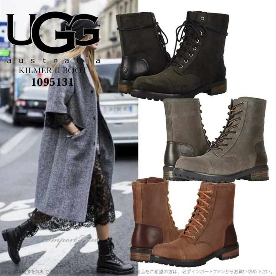 93a934a4eb6 UGG Australia Chipmunk Kilmer Ii Genuine Shearling Lined Water Resistant  Boots/Booties Size US 8 Regular (M, B) 40% off retail