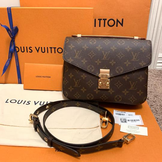 Louis Vuitton Pochette Metis Rare New Cross Body Bag Image 1