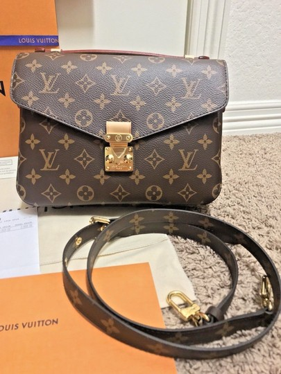 Louis Vuitton Pochette Metis Rare New Cross Body Bag Image 2
