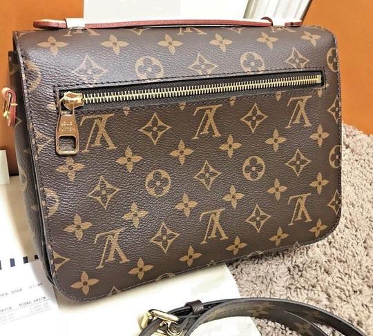 Louis Vuitton Pochette Metis Rare New Cross Body Bag Image 5