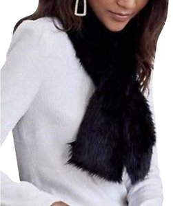 Unreal Fur NEW Black Faux Fur Stole