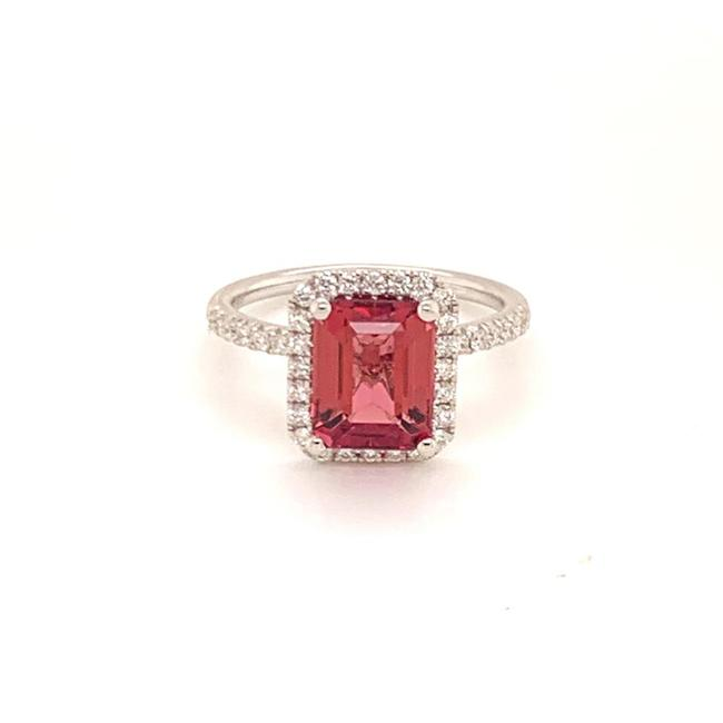 Unbranded Red Diamond Rubellite 18k Gold 3.11 Tcw Women Certified 913131 Ring Unbranded Red Diamond Rubellite 18k Gold 3.11 Tcw Women Certified 913131 Ring Image 1