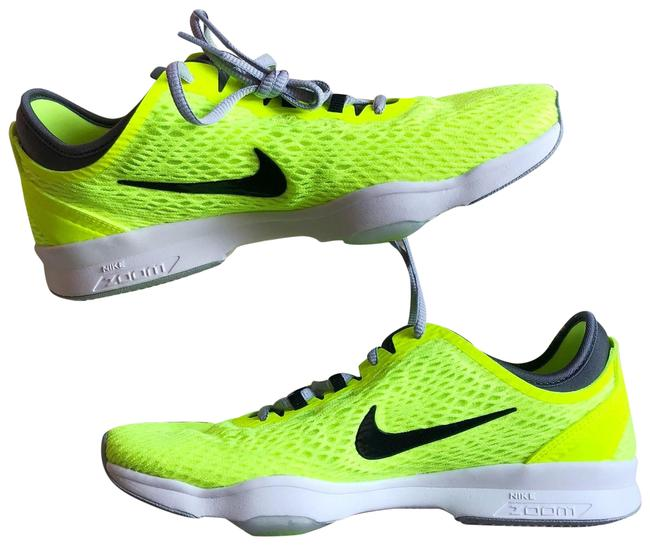 Nike Chartreuse Neon Yellow Zoom Fit