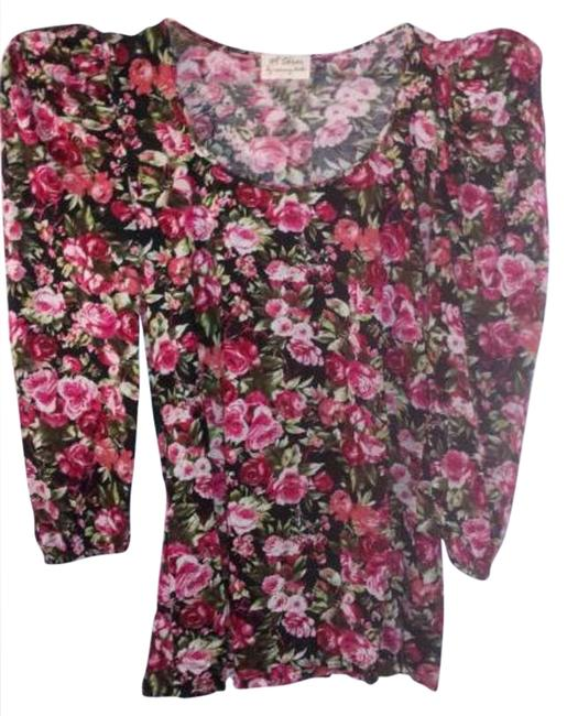 Preload https://item4.tradesy.com/images/torn-by-ronny-kobo-multicolored-floral-longsleeve-blouse-size-4-s-251458-0-0.jpg?width=400&height=650