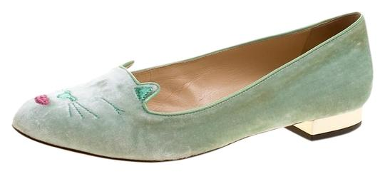 Preload https://img-static.tradesy.com/item/25145808/charlotte-olympia-green-peppermint-velvet-pouting-kitty-flats-size-eu-38-approx-us-8-regular-m-b-0-1-540-540.jpg