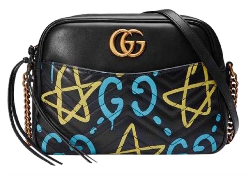 3777586485a2 Gucci Marmont Ghost Leather Cross Body Bag - Tradesy