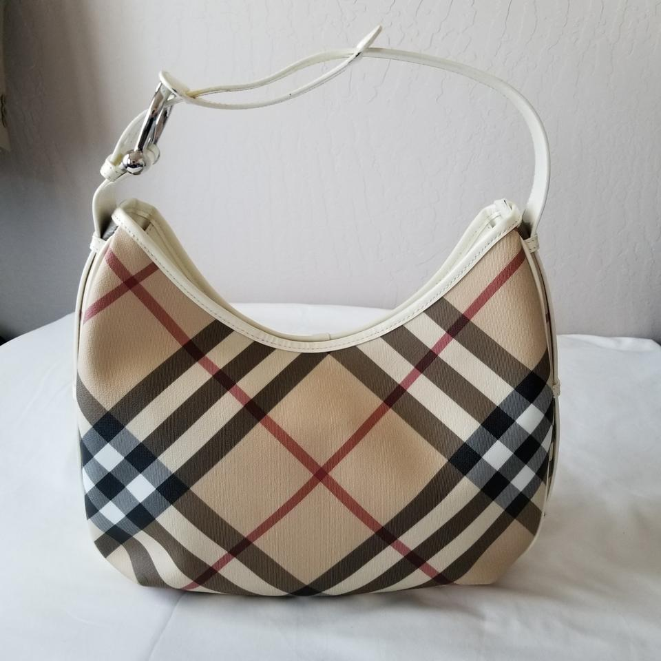 cac8cdce2d Burberry Nova Check Medium Barton Canvas Hobo Bag - Tradesy